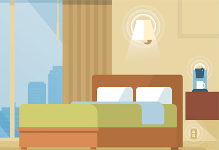 Smart Hotel Operations with IoT Technology